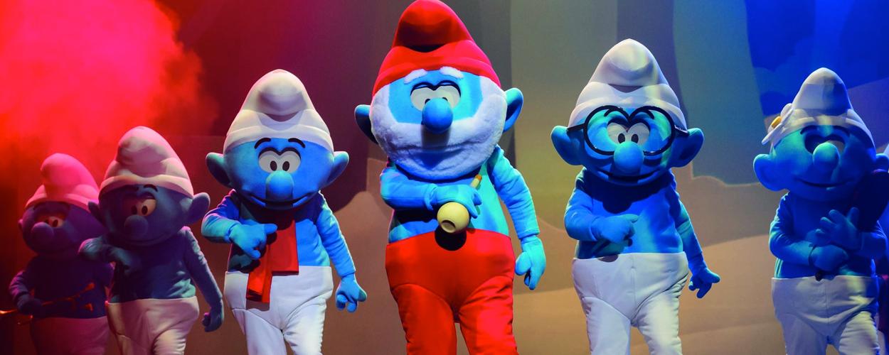 Smurfen de Musical vanaf oktober in Nederland en België