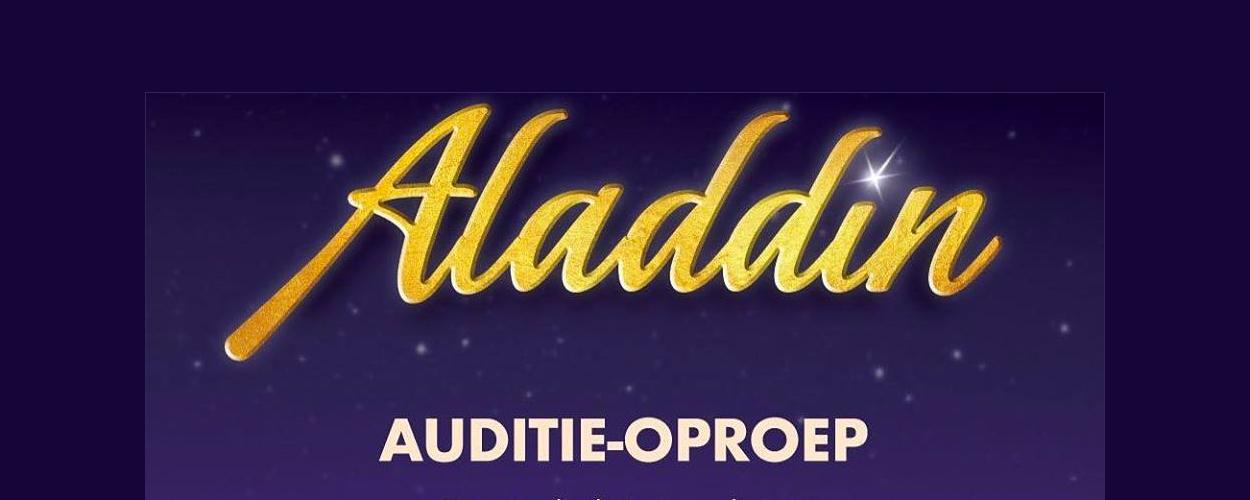 Audities: Ensembleleden Vlaamse versie Aladdin