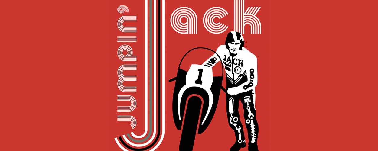 Matteo van der Grijn in voorstelling Jumping Jack op TT Circuit
