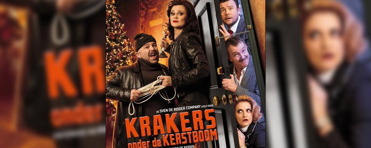 Sven De Ridder Company presenteert Krakers onder de kerstboom