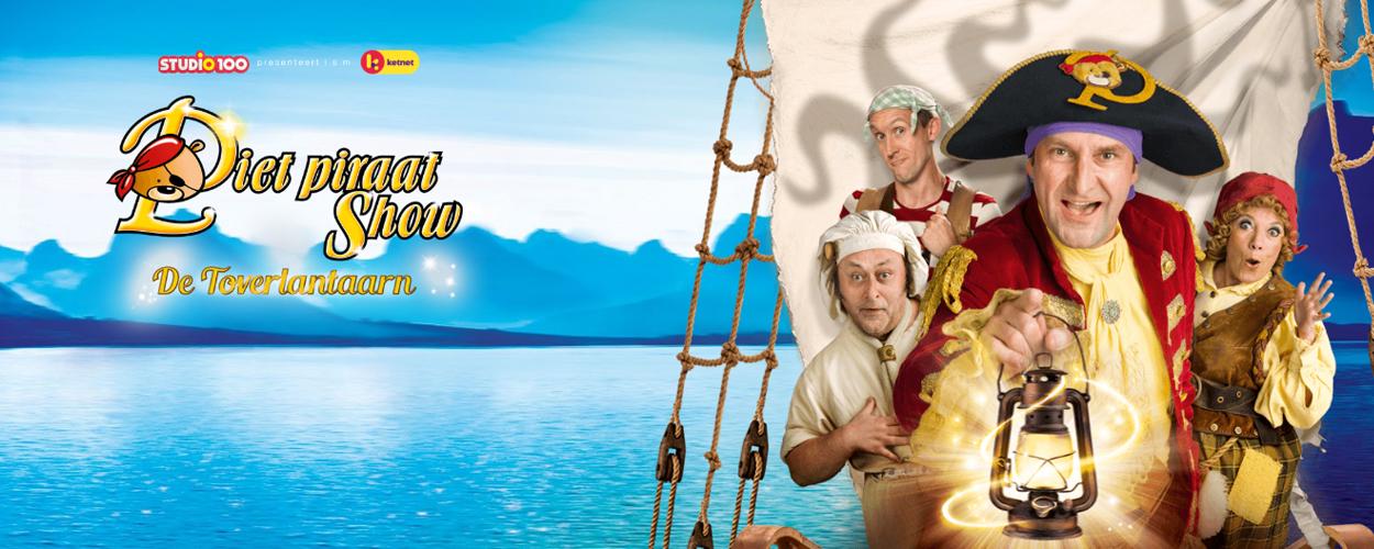 Piet Piraat en de Toverlantaarn vanaf volgend jaar in het theater