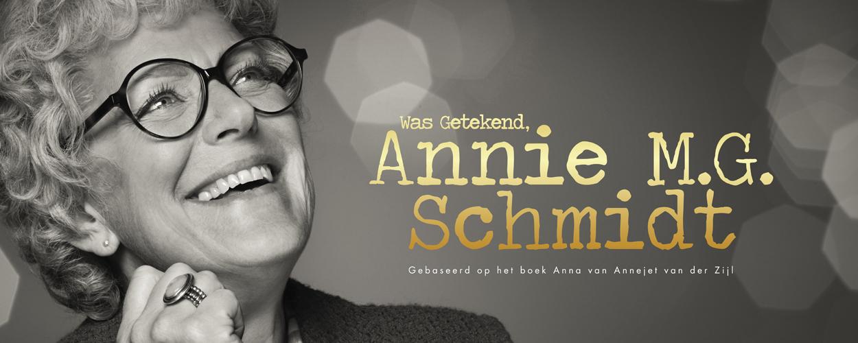 Simone Kleinsma in alle voorstellingen Was Getekend, Annie M.G. Schmidt