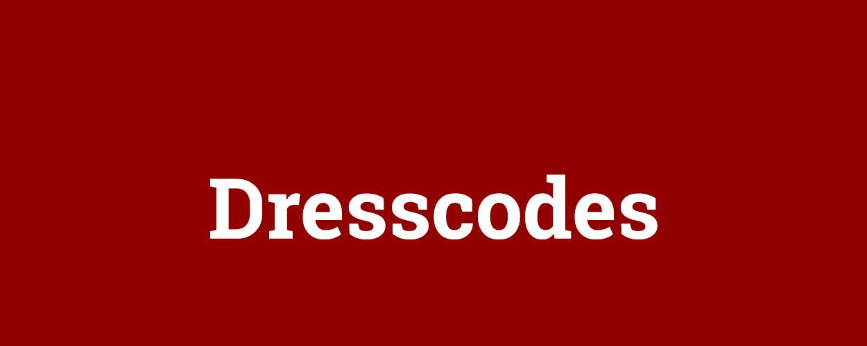 Uitleg van dresscodes voor premières