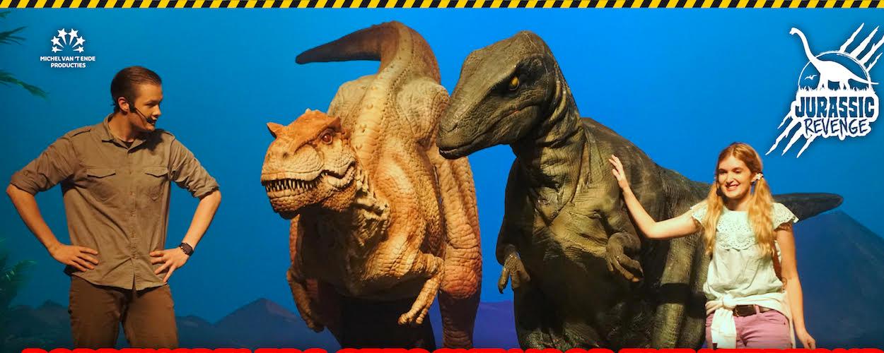 Audities: Poppenspelers gezocht voor dinoshow: Jurassic Revenge