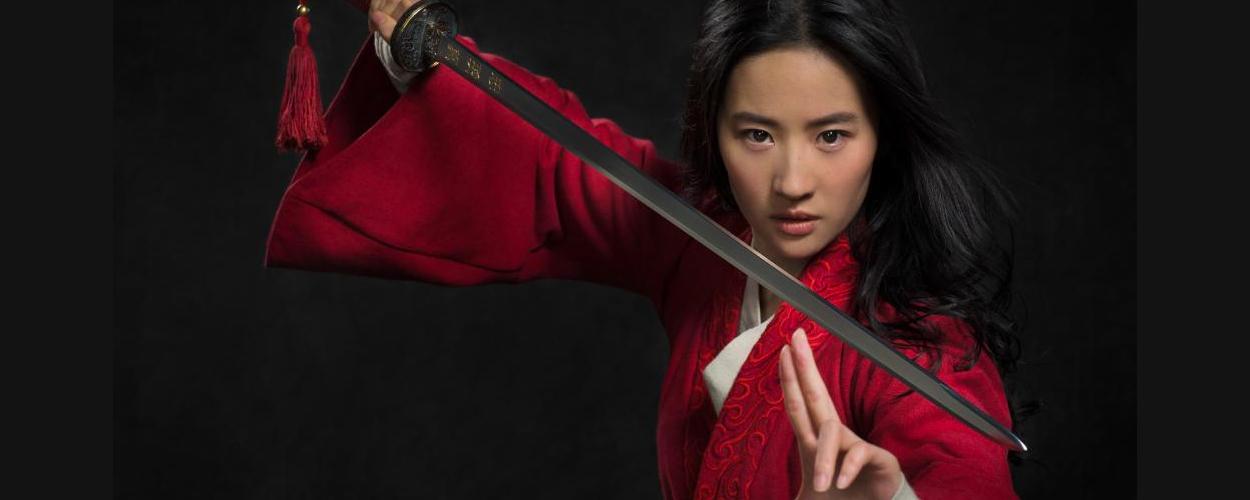 Eerste foto van Liu Yifei in live-action Mulan