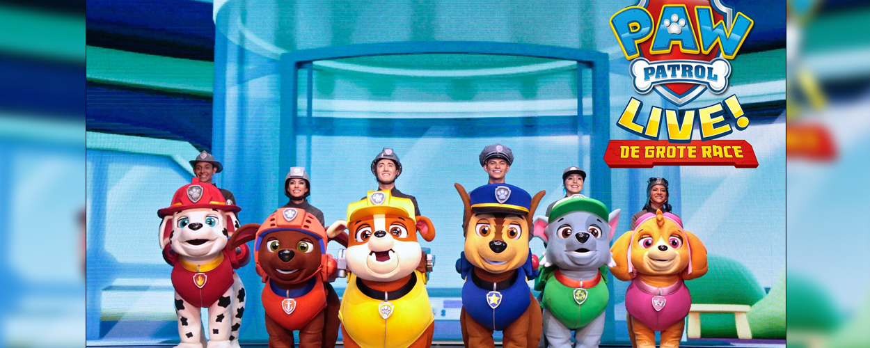 Extra show voor PAW Patrol Live!