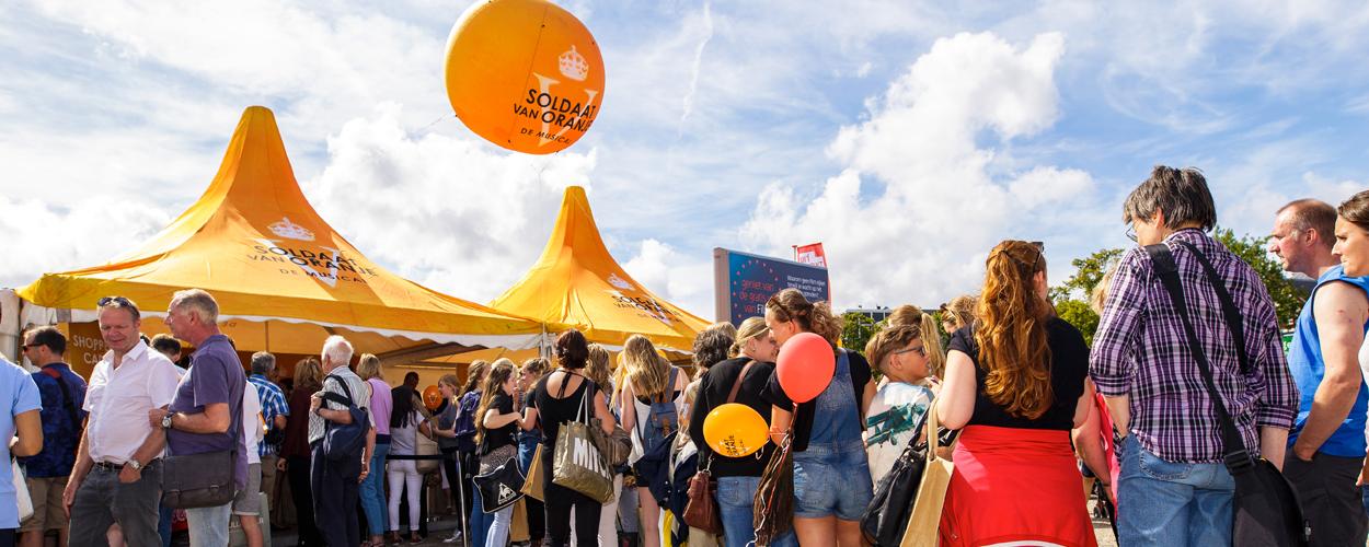 Soldaat van Oranje komend weekend op de Uitmarkt