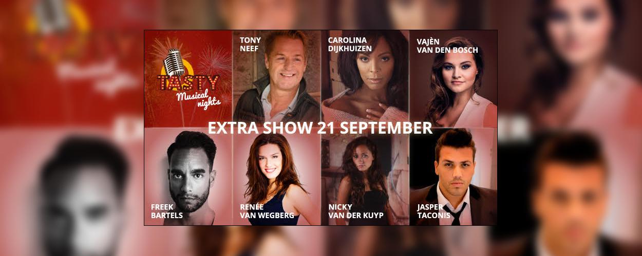 Extra Tasty Musical Dinner in Scheveningen op 21 september