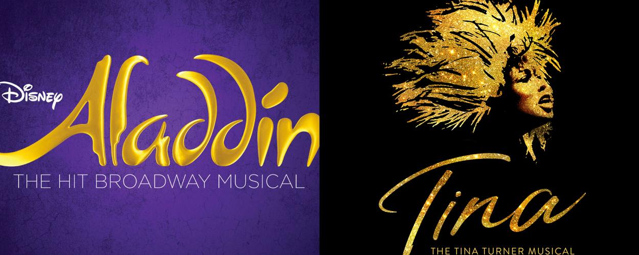 Aladdin en Tina the Musical in komende jaren naar Nederland