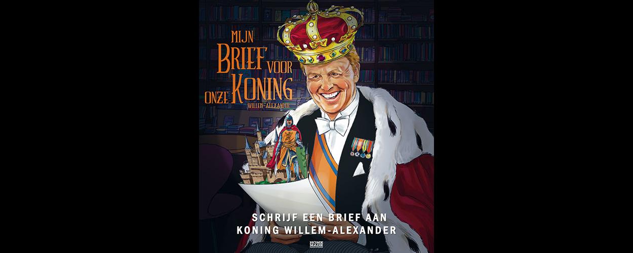 De Brief voor de Koning roept kinderen op brief te schrijven aan Willem-Alexander