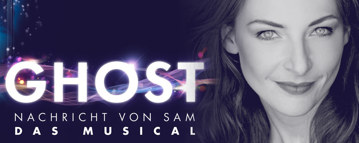 Willemijn Verkaik als Molly Jensen in Ghost das Musical in Berlijn