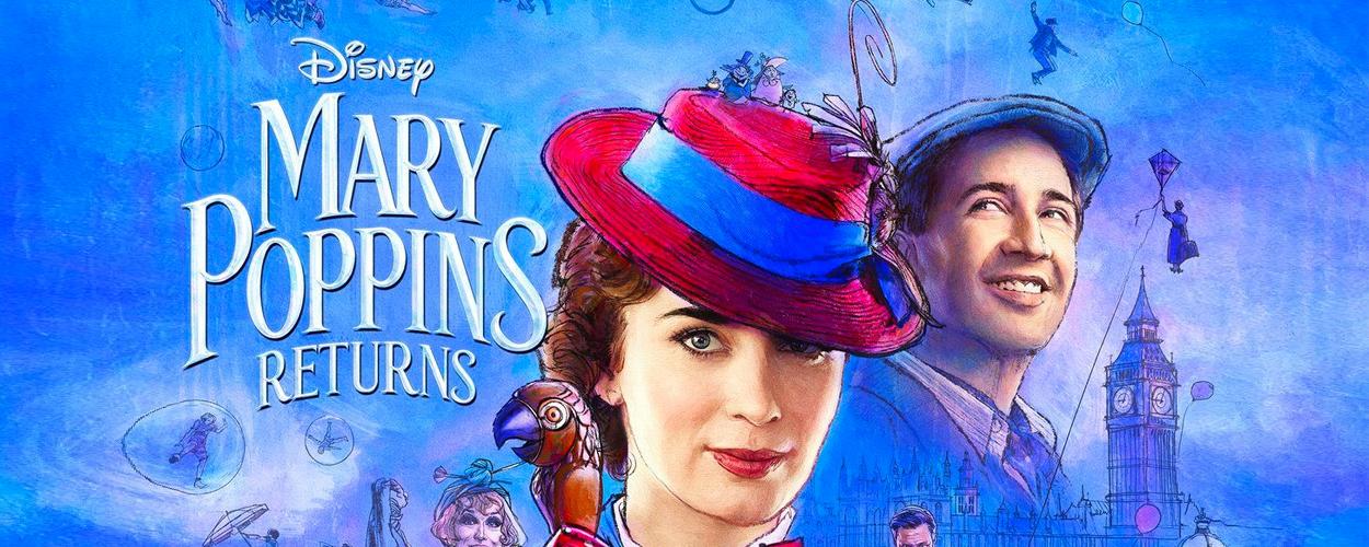 Nieuwe lange trailer voor Mary Poppins Returns
