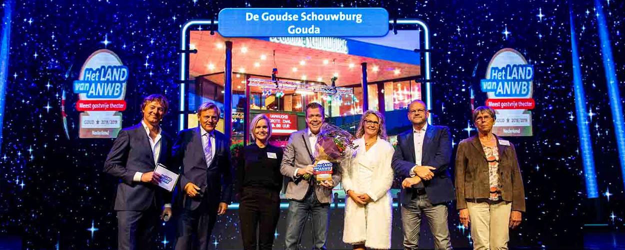 Goudse Schouwburg Meest gastvrije theater 2018-2019