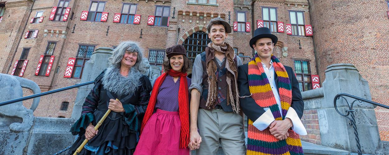 Kasteel de Haar verwelkomt nieuwe bewoners Hans & Grietje