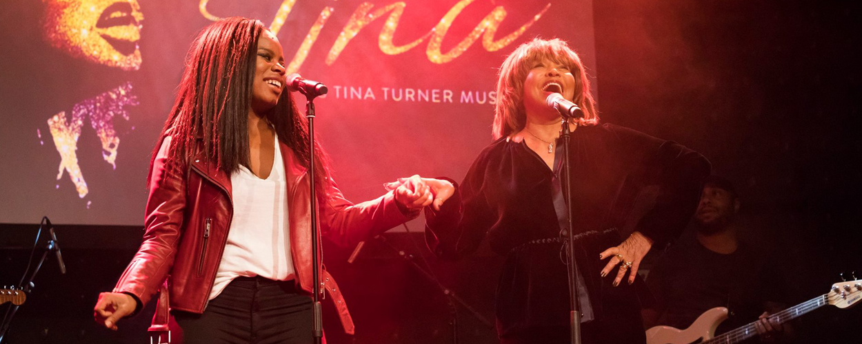 Kristina Love als Tina Turner in Duitsland