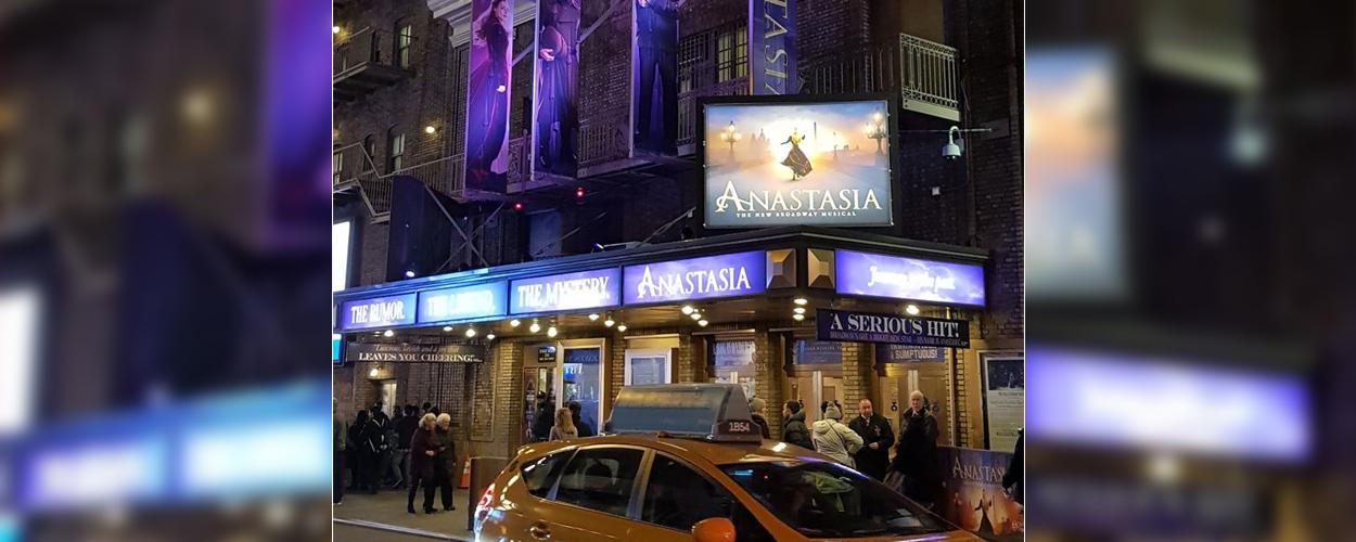 Recensie: Anastasia The Musical op Broadway (5 sterren)