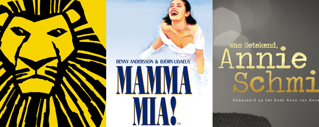 The Lion King, Mamma Mia! en Was Getekend, Annie M.G. Schmidt in actie voor Aidsfonds