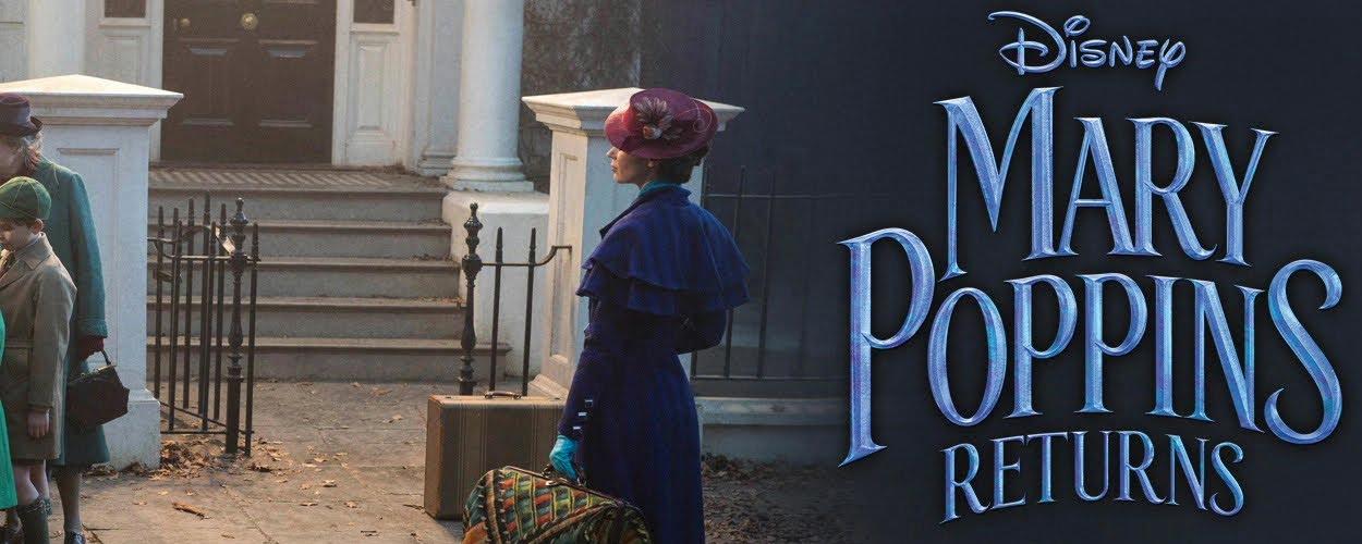 Disney publiceert twee nummers uit Mary Poppins Returns