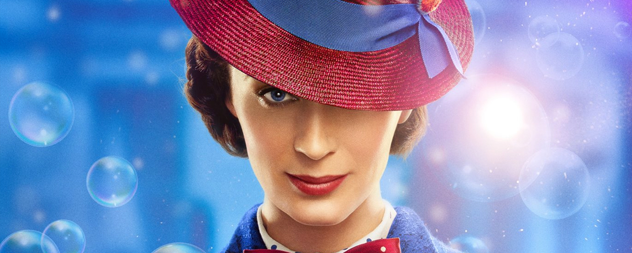 Karakterfoto's en nieuwe sneak peek Mary Poppins Returns