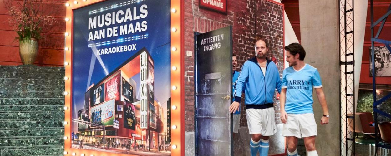 Musicals aan de Maas Karaokebox geopend in Nieuwe Luxor Theater