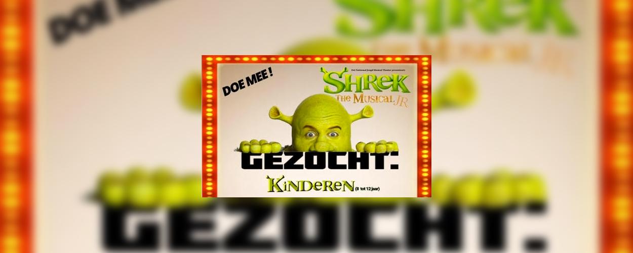 Het Nationaal Jeugd Musical Theater zoekt kinderen voor Shrek de musical jr