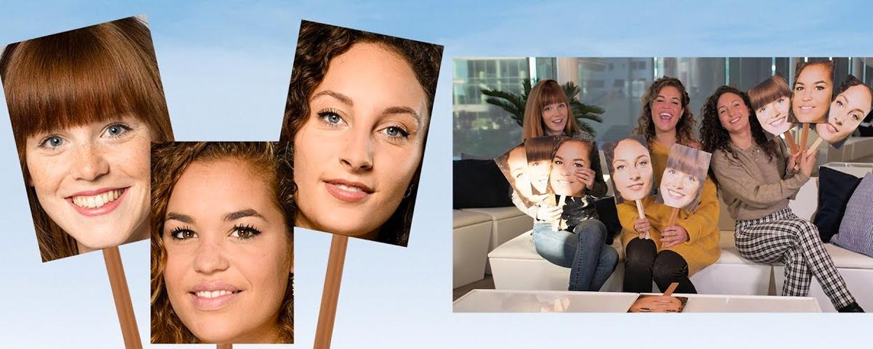 Wie van de Drie met Jolijn, Annefleur en Sky uit Mamma Mia!