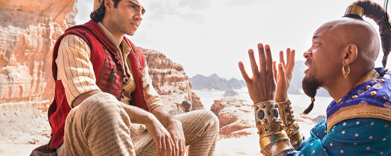 Eerste foto's van Will Smith als Genie in live-action Aladdin
