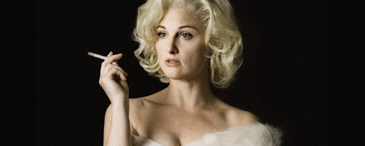 Brigitte Heitzer speelt Marilyn Monroe in Goodbye, Norma Jeane