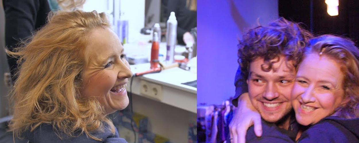 Achter de schermen: Hilke Bierman als Roos in Mamma Mia!