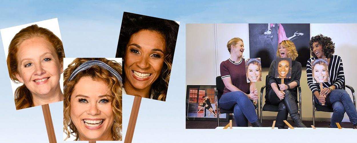 Wie van de Drie met Antje, Hilke en Sophia uit Mamma Mia!