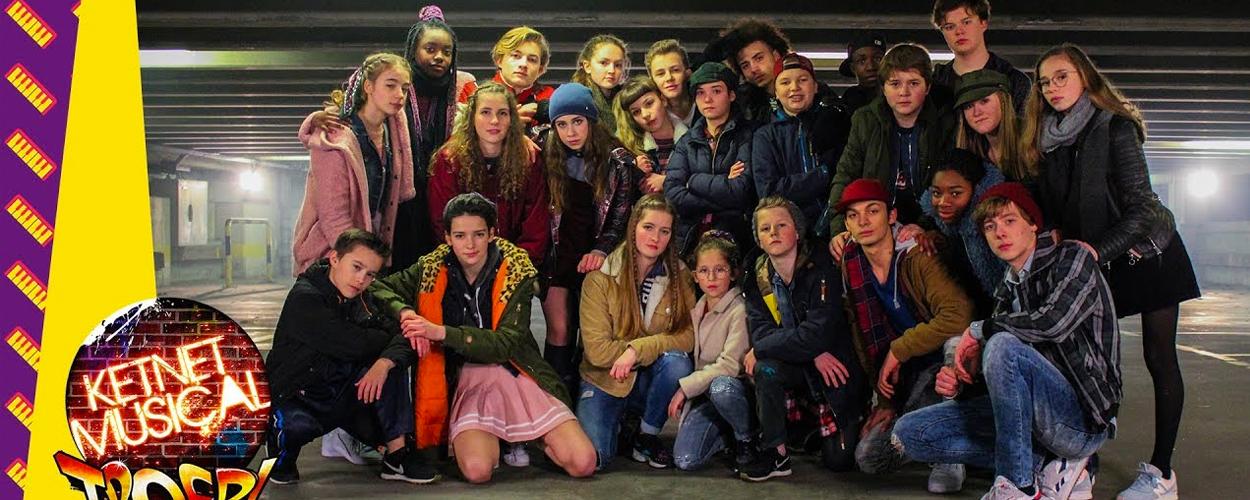 Nieuwe Clip Voor Ketnet Musical: Troep!