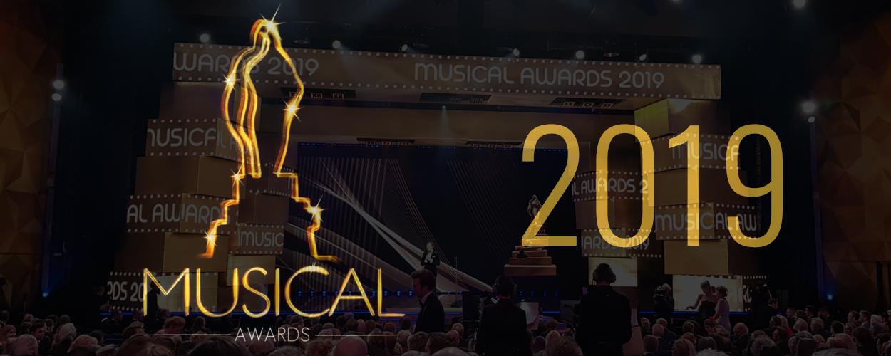 1 miljoen kijkers voor Musical Awards 2019