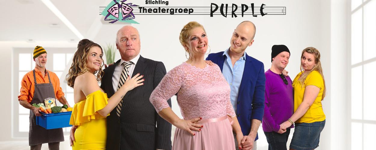 Audities: Theatergroep Purple zoekt met spoed speler voor Heerlijk Duurt Het Langst