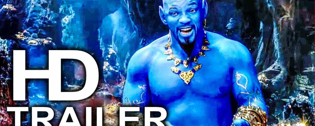 Nieuwe trailer voor live-action Aladdin met Will Smith als Genie