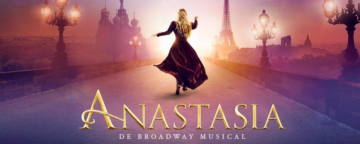Gerrie van der Klei ontmoet Broadway cast Anastasia