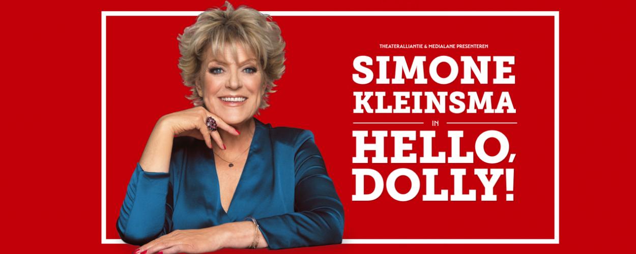 Simone Kleinsma volgend seizoen in Hello Dolly!
