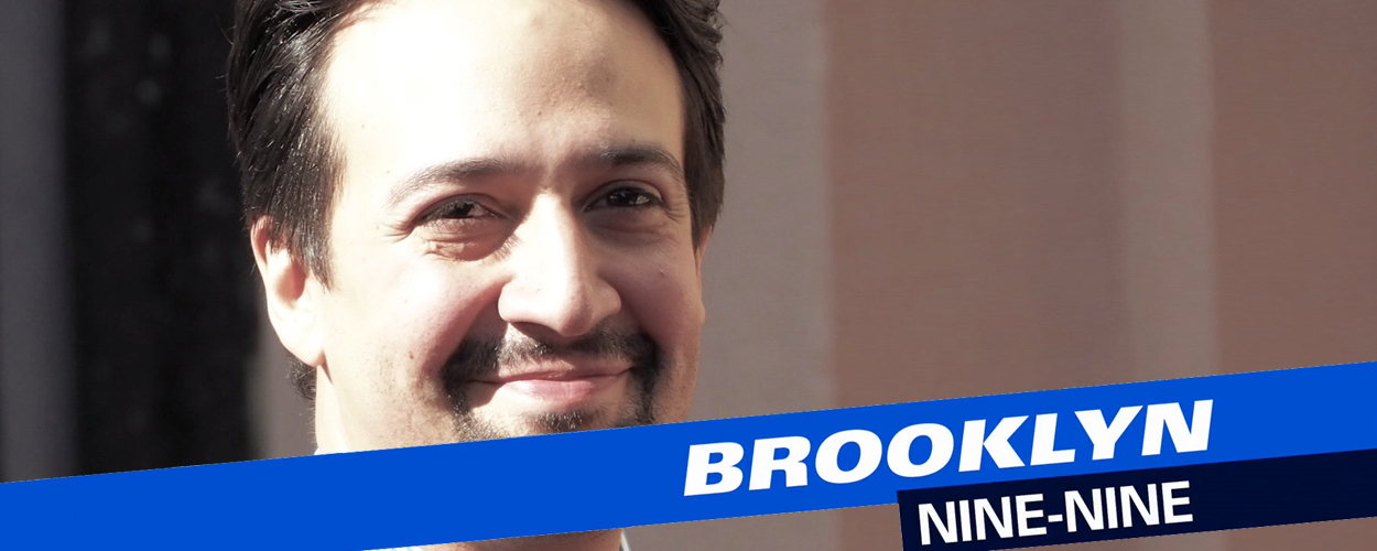 Gastrol voor Lin-Manuel Miranda in Brooklyn Nine-Nine