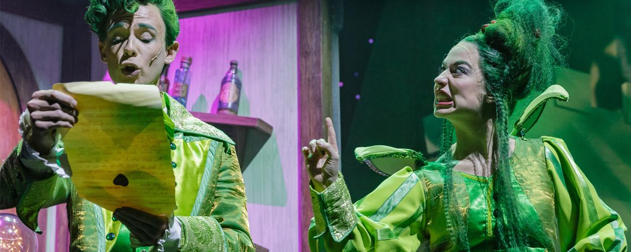 Titus en Fien zijn opnieuw van de partij in Vlaamse Assepoester