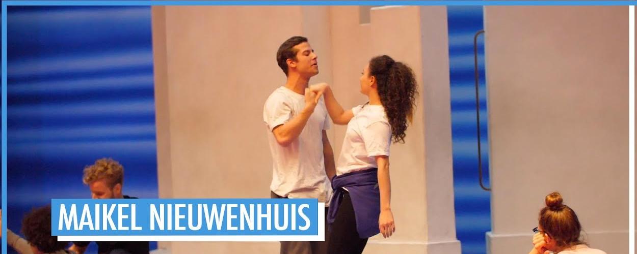 Achter de schermen: Maikel Nieuwenhuis als Pepper in Mamma Mia!