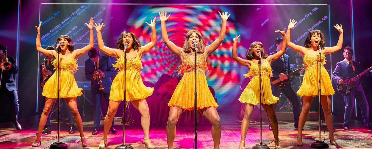 De eerste scenefoto's van TINA – De Tina Turner Musical