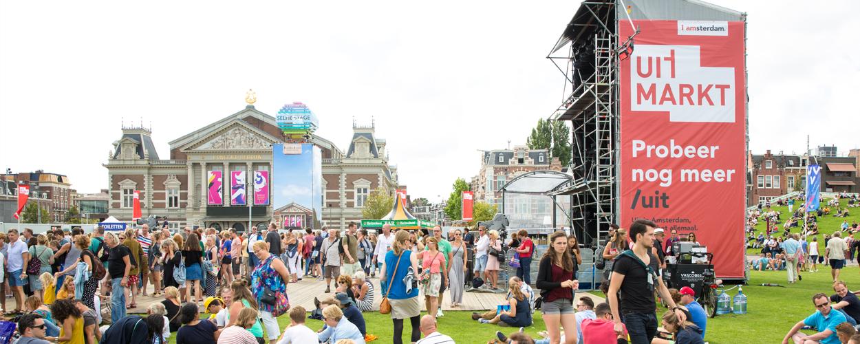 Uitmarkt 2019 op Museumplein en Leidseplein