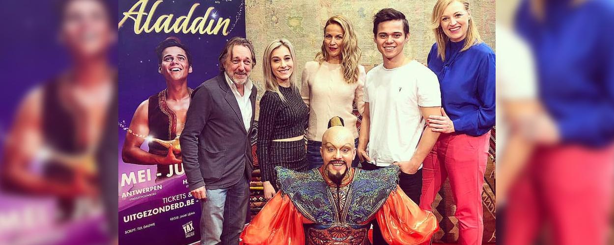 Cast Vlaamse versie Aladdin neemt castalbum op