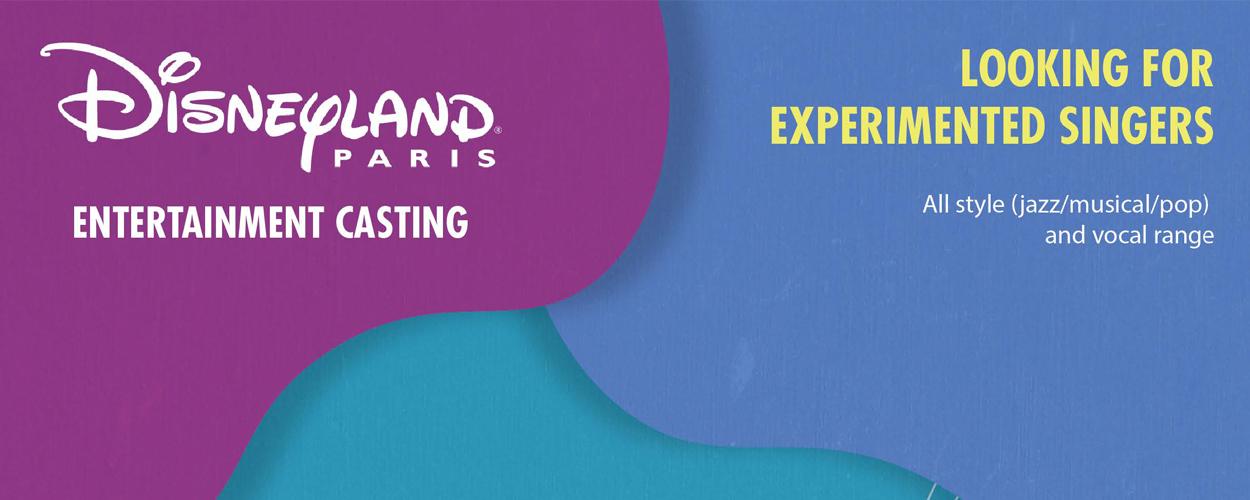 Audities: Disneyland Parijs zoekt zangers en zangeressen voor nieuwe shows