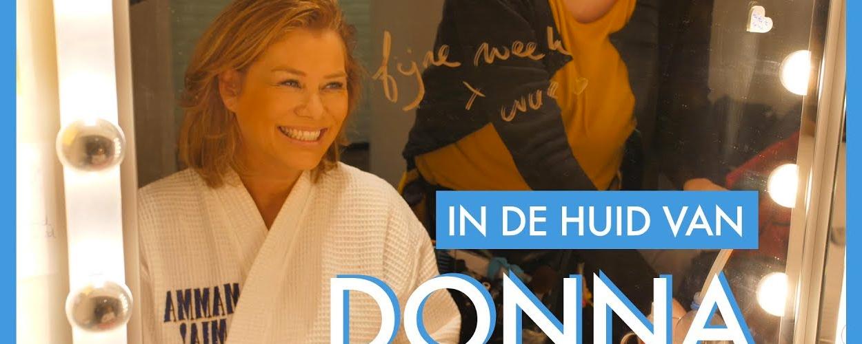 Achter de schermen: Antje Monteiro als Donna in Mamma Mia!