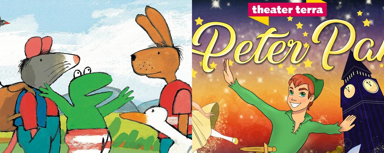Theater Terra brengt volgend seizoen Kikker op avontuur en Peter Pan