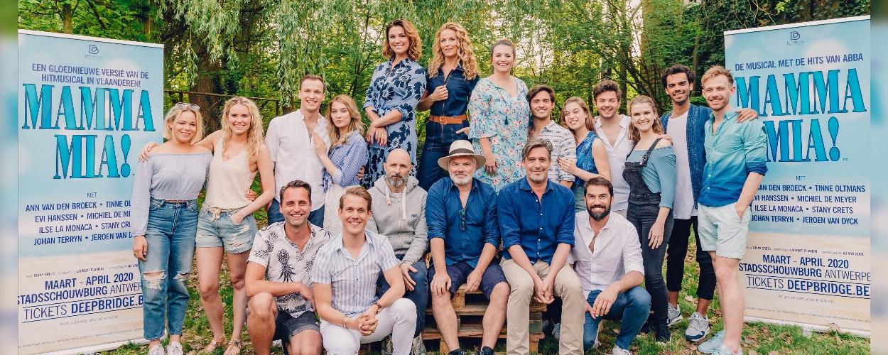 De volledige cast van Vlaamse Mamma Mia!