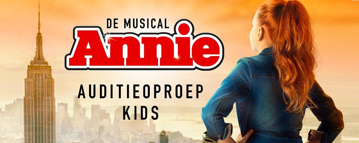 Audities: Kinderen gezocht voor Belgische Annie de Musical