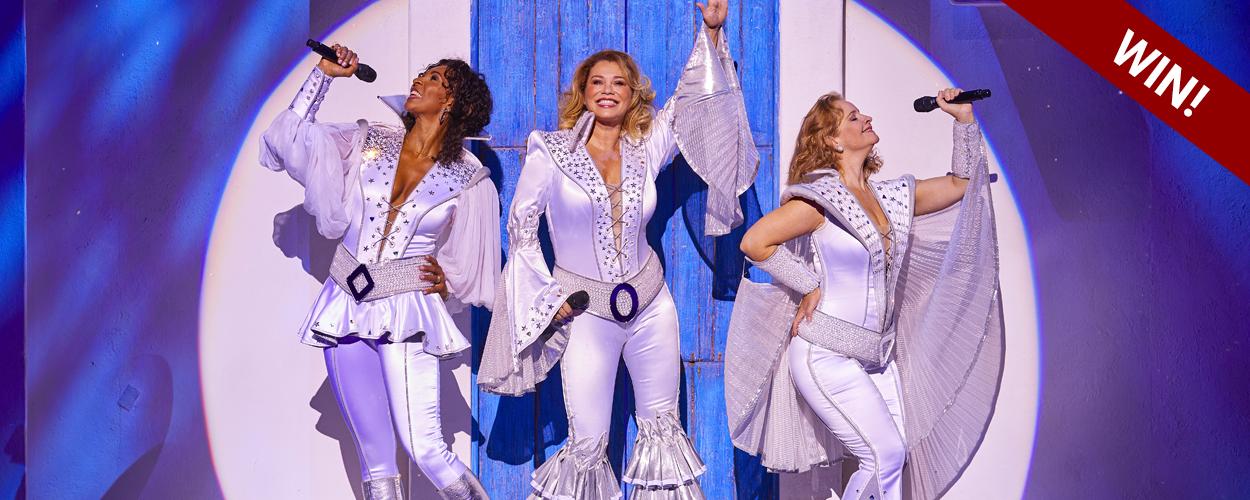Win twee kaarten voor de laatste voorstelling van Mamma Mia!