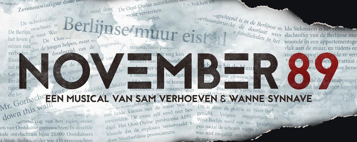 The Singing Factory brengt November 89 met hoofdrol voor Maike Boerdam