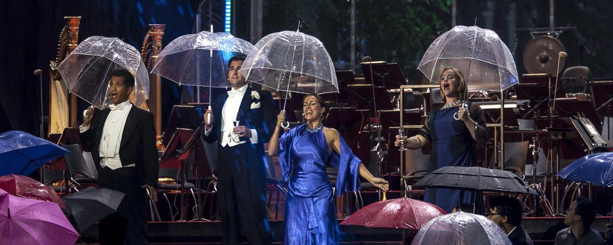 Opera voor iedereen op het Muiderslot